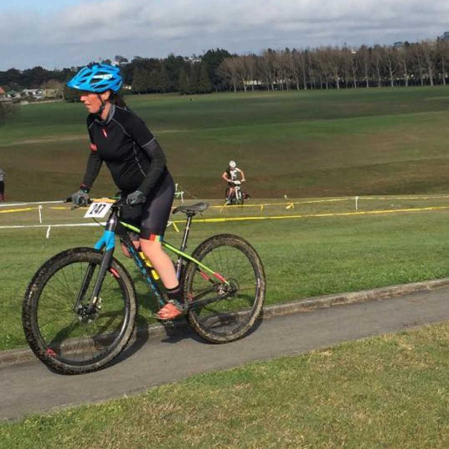 "Cyclocross ""Racing"" at 6 Months"