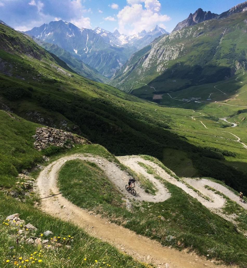 Tour du Mont Blanc by Bike